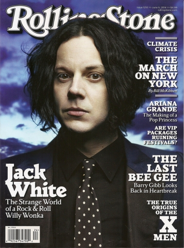 Rolling Thunder: Jack White vents his spleen in a Rolling Stone cover interview ahead of the release of Lazaretto.