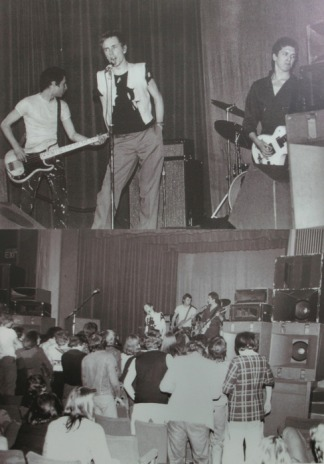Iconic gig: Sex Pistols live at Manchester's Lesser Free Trade Hall on 4th June 1976