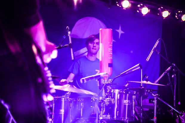 Codes drummer Niall Woods, recruited into the band in 2012.