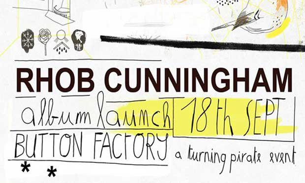 Berlin- based Dubliner Rhob Cunningham launched The Window & Day, his new album, at The Button Factory.