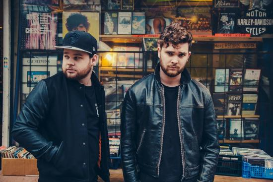 Ben Thatcher (left) of Royal Blood.